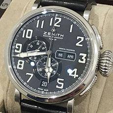 ゼニス 時計 パイロット アエロネフ タイプ20 アニュアルカレンダー