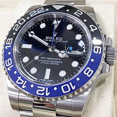 ロレックス 時計 GMTマスター2 黒 青 人気モデル 高価買取