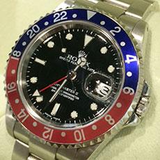 ロレックス 時計 GMTマスター ペプシ 人気モデル アンティーク フジツボ 高価買取