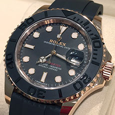 ロレックス 時計 ヨットマスター 新型 エバーローズゴールド 人気 スポーツモデル 買取強化