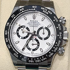 ロレックス 時計 デイトナ 新型 現行モデル Ref.116500LN 高価買取