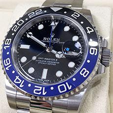 ロレックス 時計 GMTマスター2 黒/青ベゼル Ref.116710BLNR 人気モデル 高額査定