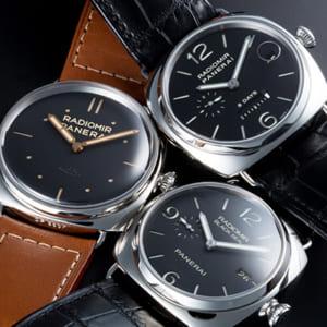芸能人にも愛用者多数!パネライの腕時計・ラジオミール&ルミノール