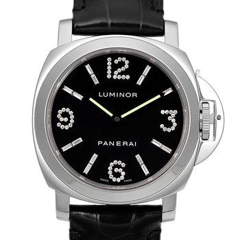 【パネライ ルミノール インデックスダイヤF番 PAM00030】世界に90本しかないダイヤ入り腕時計