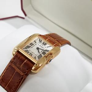 カルティエ(Cartier)の腕時計 タンクアングレーズ!