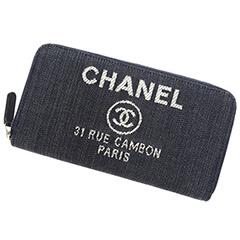 シャネル ドーヴィル 財布買取