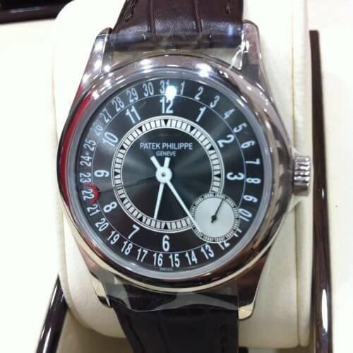 パテック フィリップ カラトラバ6000の買取事例 ~宅配買取は高級時計でも安心です~