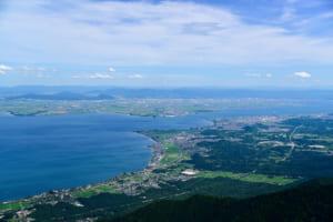 滋賀県内の主な都市と商業施設