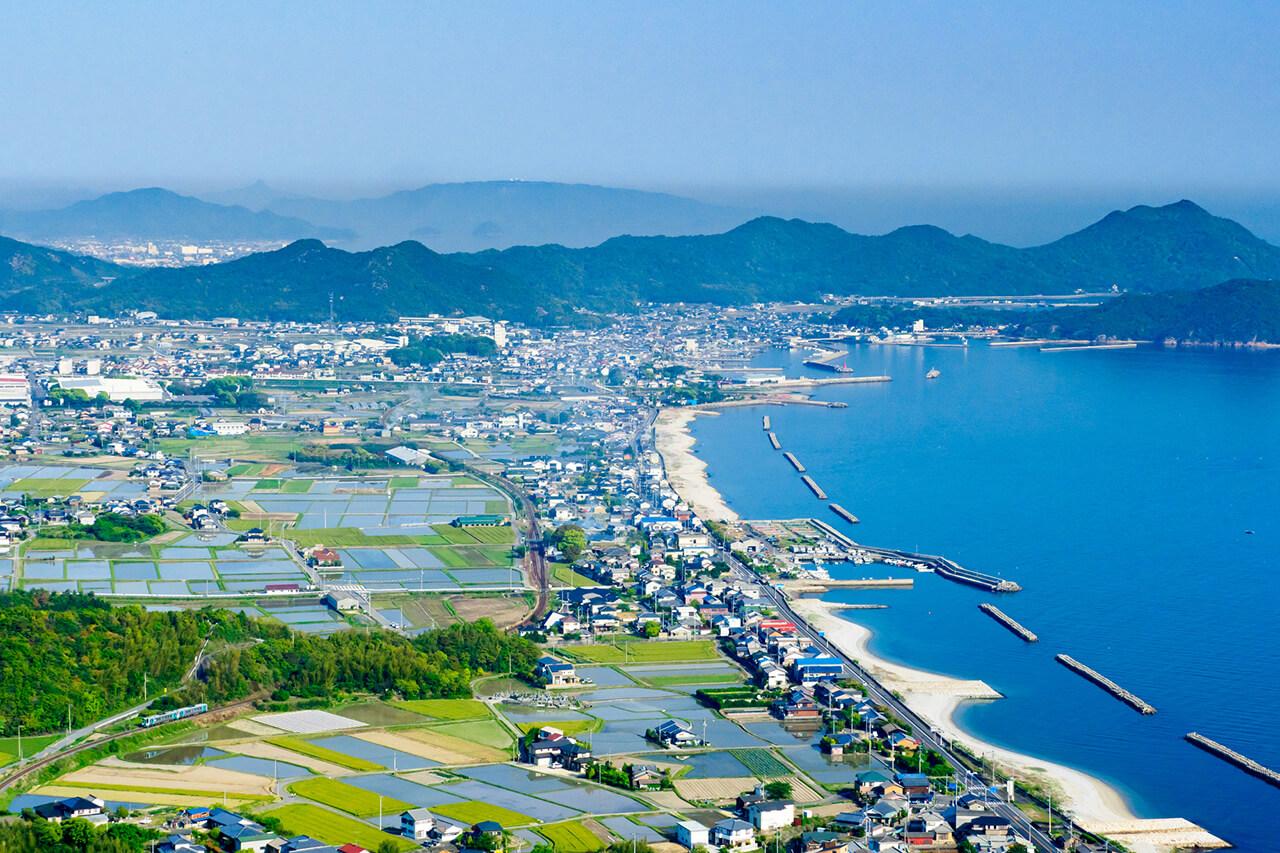 自然にあふれた徳島県