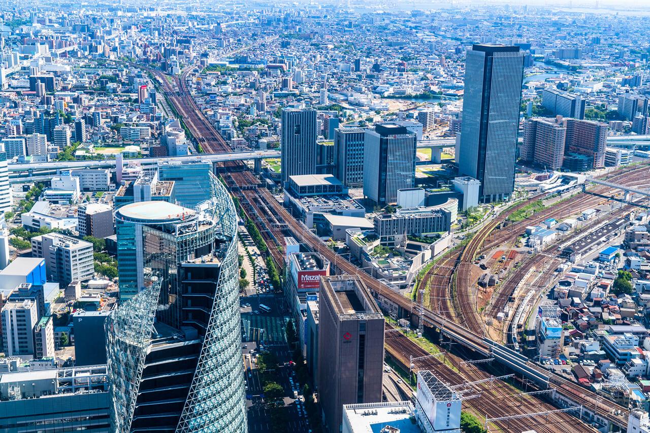 愛知県の人口・交通・年収などのあらまし