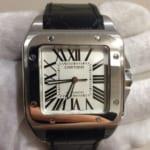 カルティエの腕時計 サントス100を買い取りました