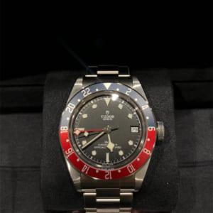 ブラックベイ GMT 青赤ベゼル 79830RB