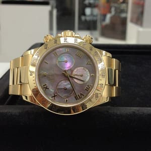 ロレックス デイトナ ブラックシェル 腕時計高価買取