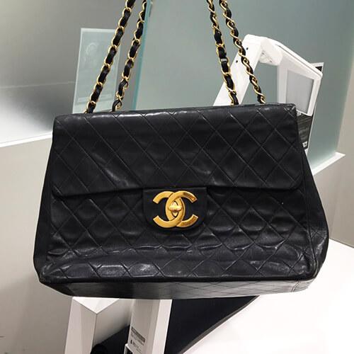 シャネル ヴィンテージバッグの買取事例 古いバッグでも諦めないでください