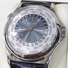 パテック フィリップ 時計 ワールドタイム 5130p-001 高評価 買取強化