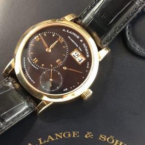 ランゲ&ゾーネ 腕時計高価買取