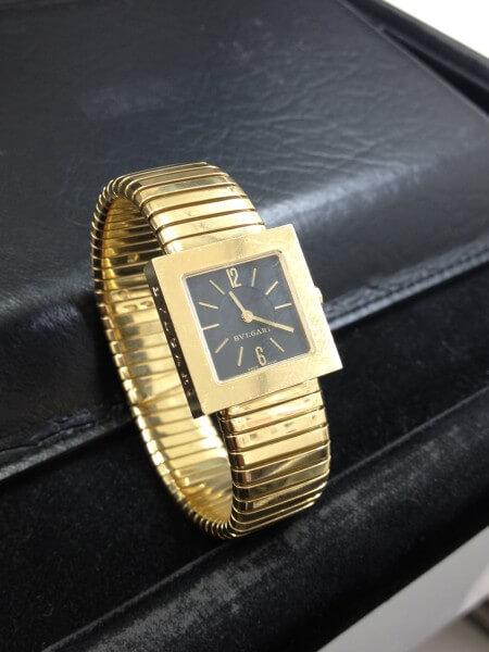 不要なブランド時計買います!ブルガリ:トゥボガス クアドラード 高価買取!