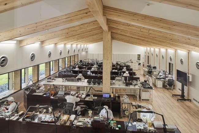 「グランドセイコースタジオ 雫石」オープニングセレモニーをリモートで開催