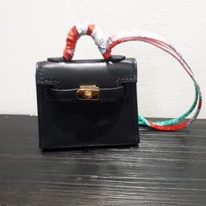 ケリー トゥイリー ミニミニ 黒 タデラクト/シルク D刻印