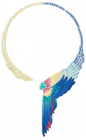 ピアジェの2020ハイジュエリーコレクション「Wings of Light」