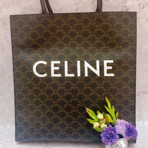 ヴィンテージ感がかわいい セリーヌ(CELINE)のトリオンフキャンバス
