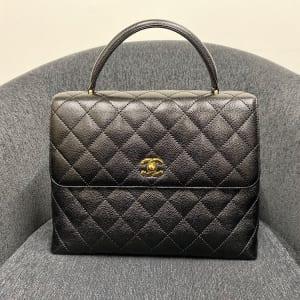 マトラッセ ケリー型ハンドバッグ