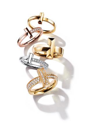 ティファニー「Tiffany T1」にイエローゴールドとホワイトゴールドが登場!