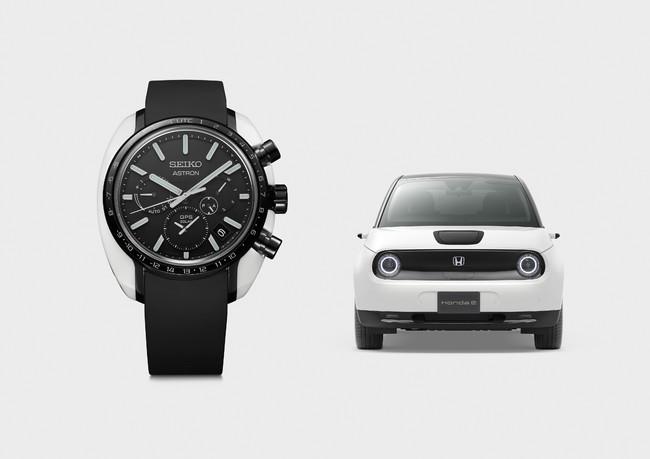 「セイコー アストロン」と「Honda e」のコラボレーションスペシャル限定モデル