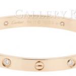 カルティエ(Cartier)人気不動のラブブレスレット