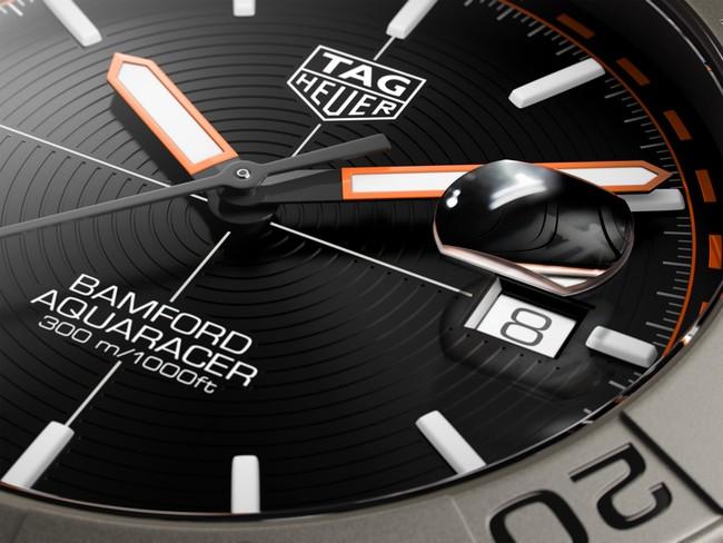 「タグ・ホイヤー アクアレーサー バンフォード リミテッドエディション」を発表