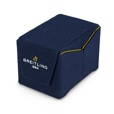 ブライトリングがアップサイクルされたペットボトルによる、再利用可能な折りたたみ式ウォッチボックスを発表