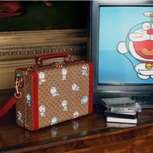 ドラえもんとグッチのコラボ、新年を祝うスペシャルコレクションを発表