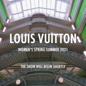 最先端のリアルタイムCG合成でルイ・ヴィトンのオンラインファッションショーを演出