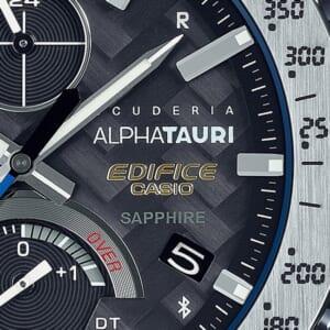 EDIFICEとScuderia AlphaTauriのコラボレーションモデル