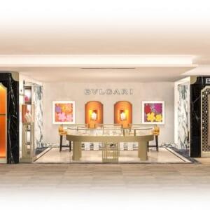 ブルガリ 銀座三越店が3月18日にリニューアルオープン