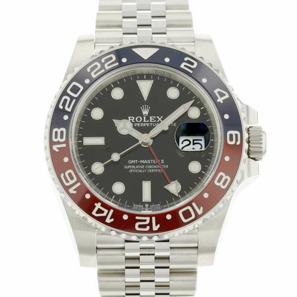 GMTマスター2 赤/青ベゼル 126710BLRO