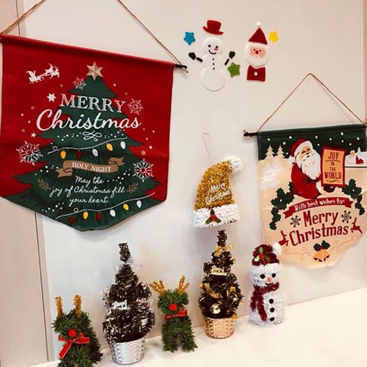 クリスマスに向けて店舗が可愛らしくなりました!