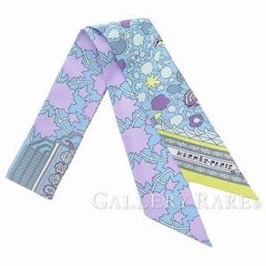 春らしい色のスカーフでコーディネート♪エルメスの春色スカーフ特集