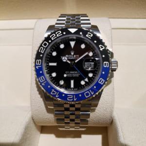 ロレックス GMTマスター2 ブラック SS 126710BLNR ランダム