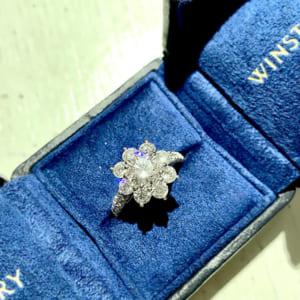サンフラワー・バイ・ハリー・ウィンストン リング ダイヤモンド