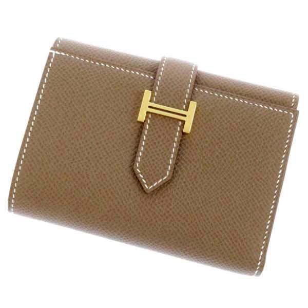 エルメス(HERMES)の人気財布、ベアンから話題の三つ折り財布が登場!