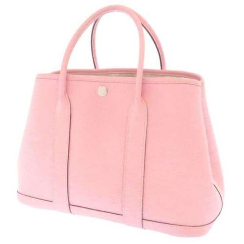 エルメス・ガーデンパーティのレザーバッグ