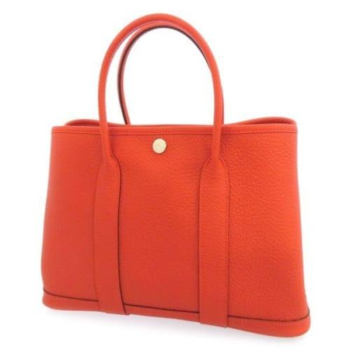 エルメス・ガーデンパーティのカラー:オレンジ